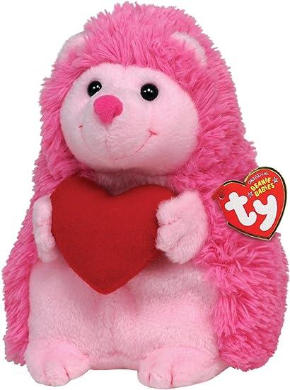 Ty Beanie Baby Smitten  Hedgehog with Heart 40805