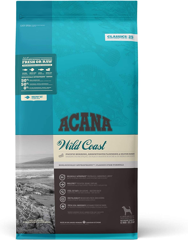 ACANA Wild Coast Comida para Perros - 17000 gr