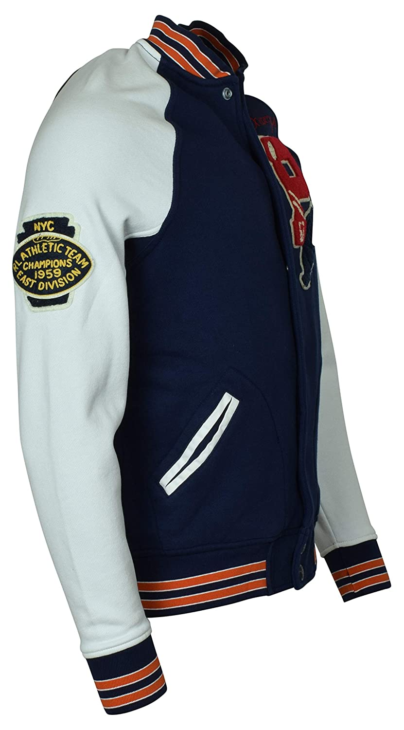 Polo Ralph Lauren Mens Bulldog Varsity Letterman Fleece ...