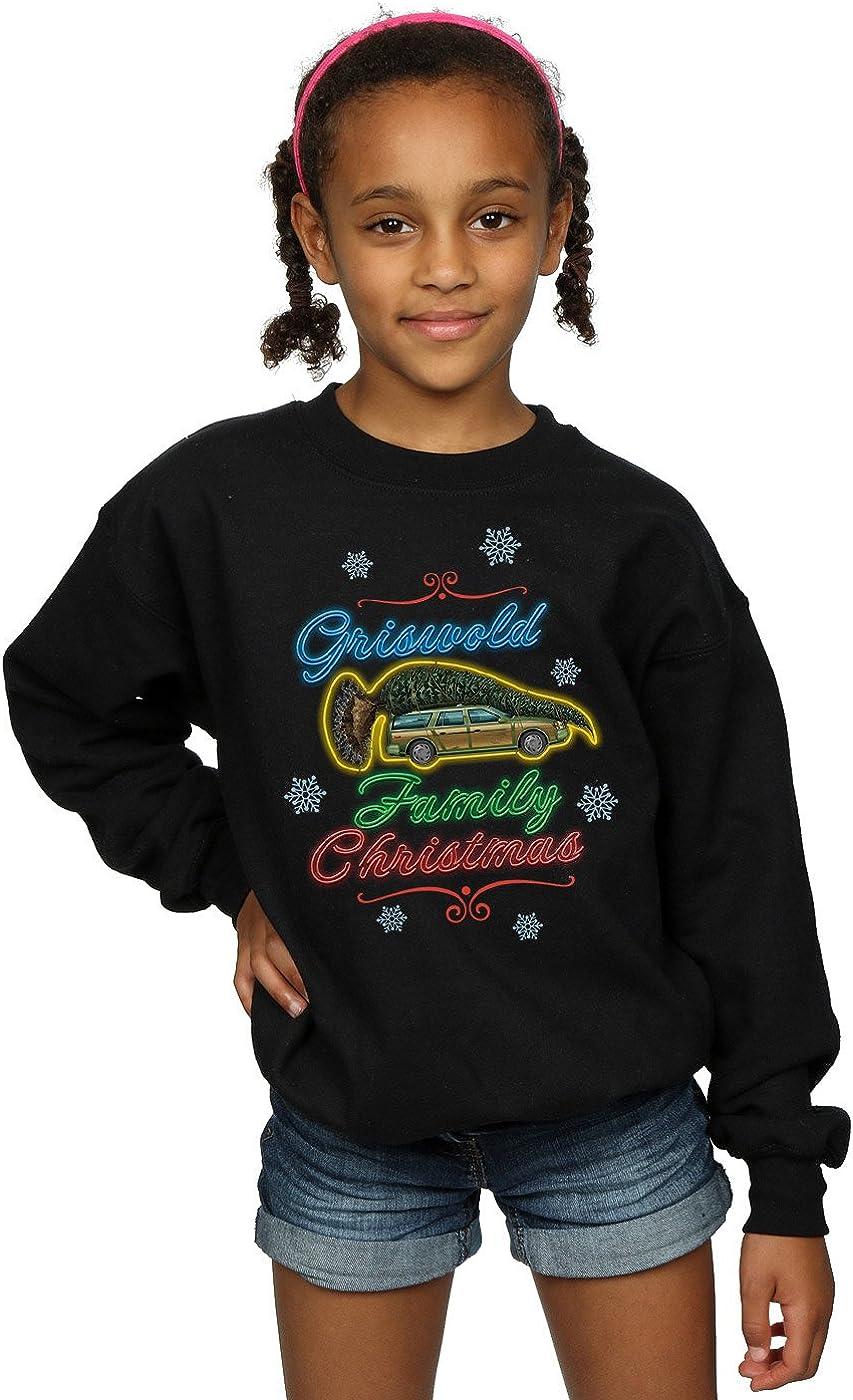 National Lampoons Christmas Vacation Girls Merry Christmoose Sweatshirt