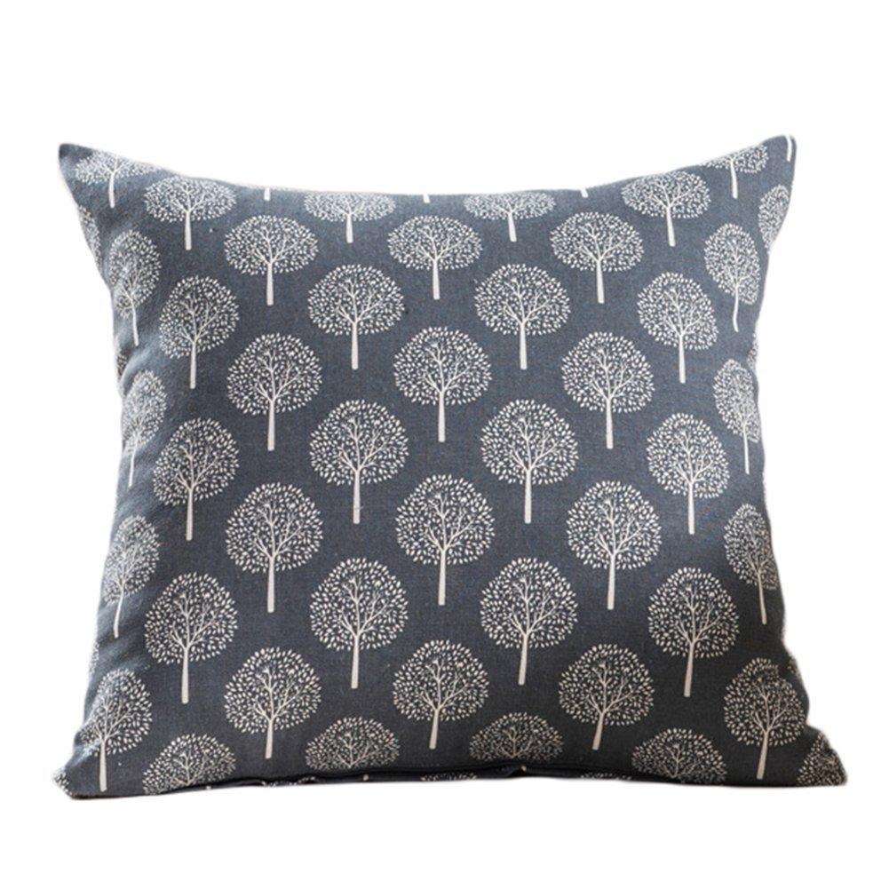 45cm LAMEIDA Pillow Cover Sofa Pillow Sofa Cushion Office Back Car Lumbar 45 Beige