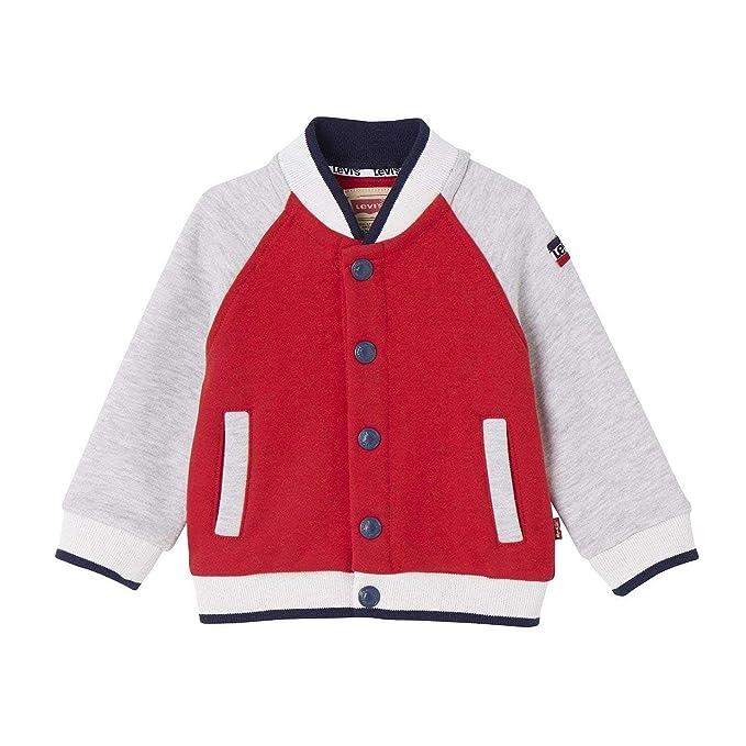Levis kids Waistcoat NM17044, Abrigo para Niños, Rojo (Vermilion 36), 2