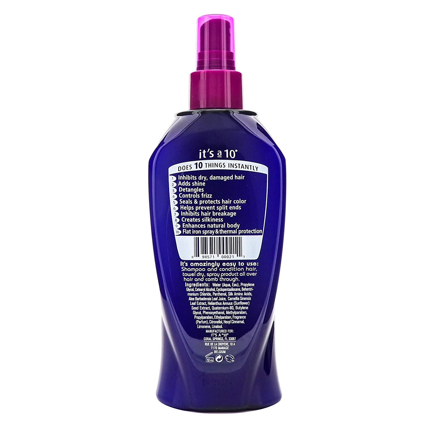 It's a 10 Miracle Leave In Product 295 ml or 10oz
