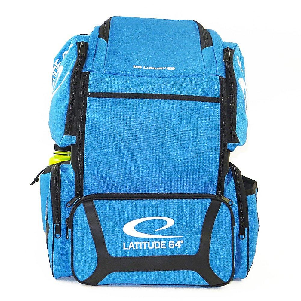 Latitude 64 DG Luxury E3 Backpack Disc Golf Bag (Blue/Black)