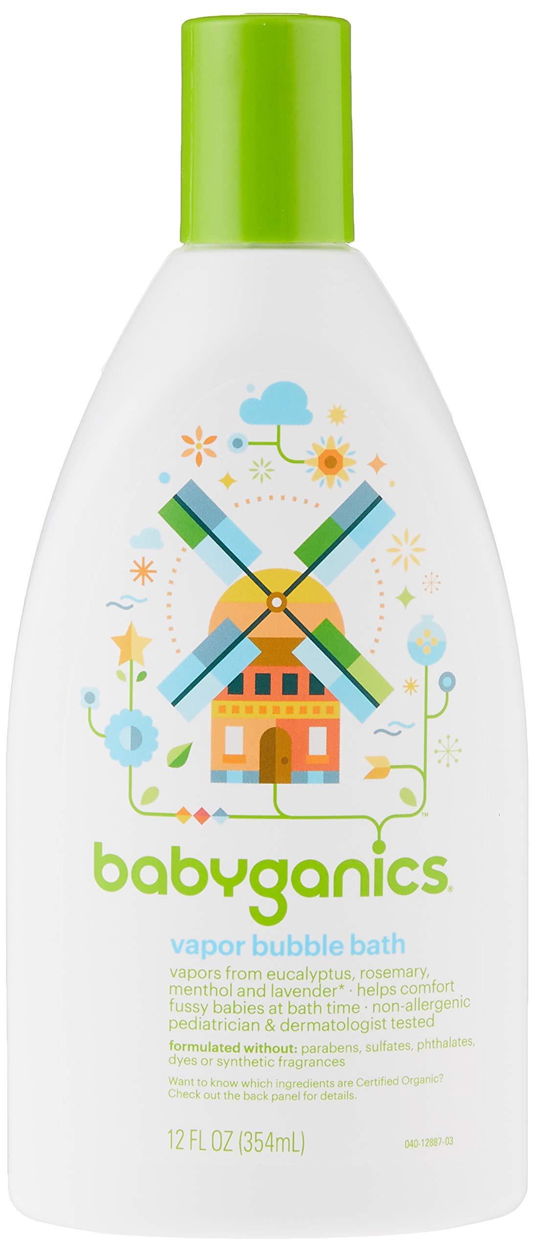BabyGanics Vapor Bubble Bath -12oz
