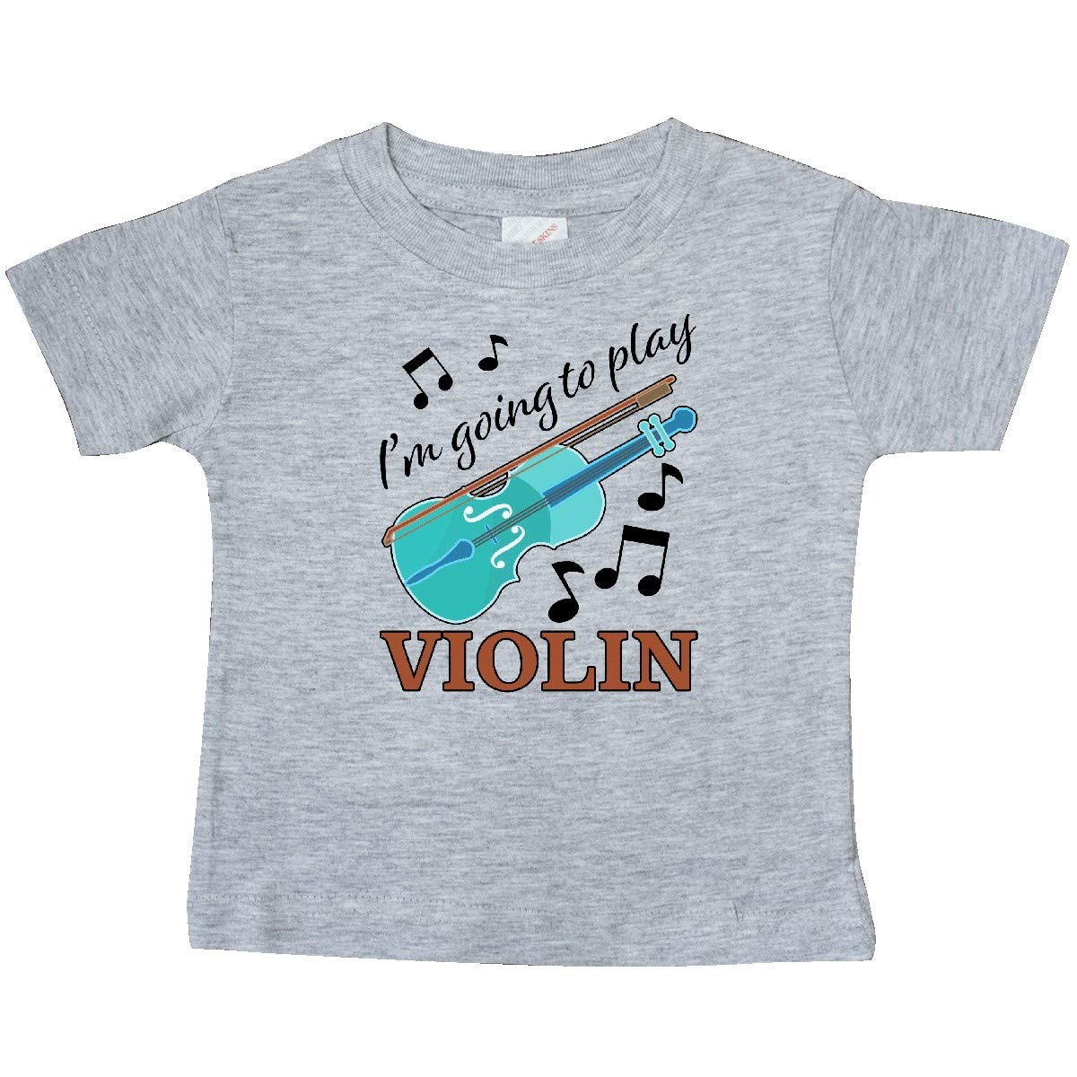 Music Baby T-Shirt inktastic Im Going to Play Violin