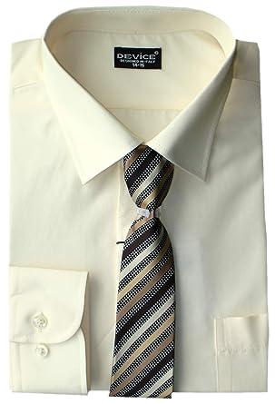DEVICE Niños Formal Camisa de Manga Larga Set Corbata Elegante ...