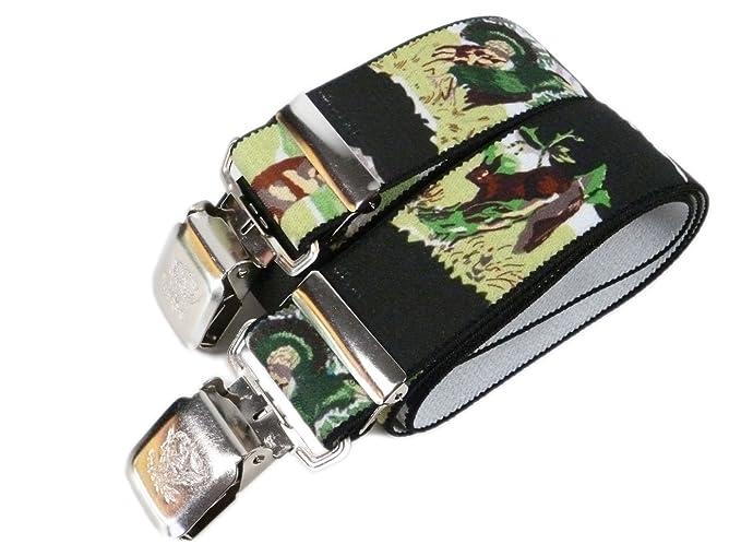 Olata Tirantes para Caza, Extra Fuerte (40mm), Totalmente Ajustable. América del Norte Animales: Amazon.es: Ropa y accesorios