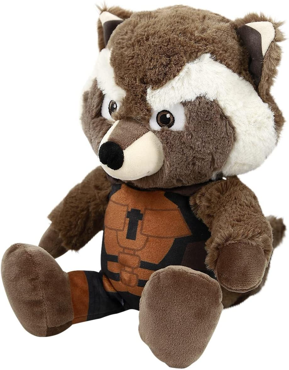 Peluche Rocket Raccoon 25 cm. Guardianes de la Galaxia. Marvel Cómics