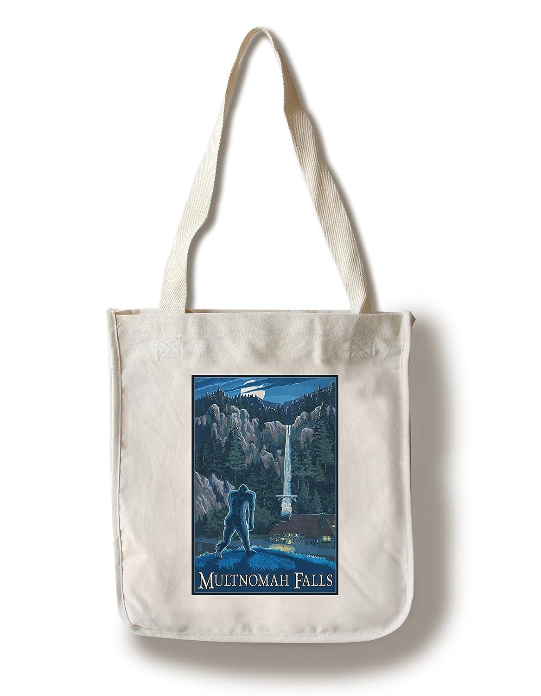 予約販売 Multnomah Falls , Oregon – Bigfoot 9 x 12 Tote Tote 9 Art Print LANT-40705-9x12 B018819ZNK Canvas Tote Bag Canvas Tote Bag, Maqua-store:e6ca9aa8 --- ciadaterra.com