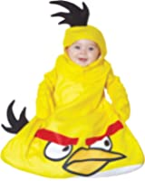 UHC Baby's Rovio Angry Bird Yellow Outfit Infant Fancy Dress Halloween Costume