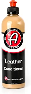 product image for Adam's Leather & Interior Conditioner 16oz - Conditions Leather, Vinyl, and Plastic Interior Surfaces - Contains Premium UV Blockers for SPF 65 Protection - Long Lasting Protection