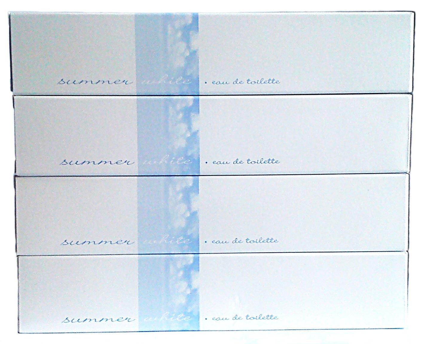 4 x AVON Summer White Eau de Toilette 50ml - 1.7fl.oz. SET !
