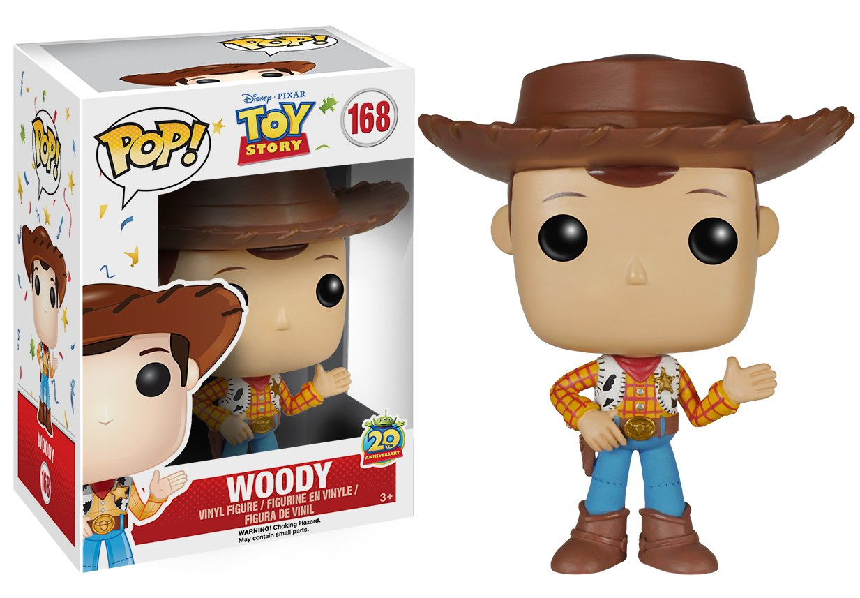 Amazon Com Funko Pop Disney Toy Story Woody New Pose Action Figure