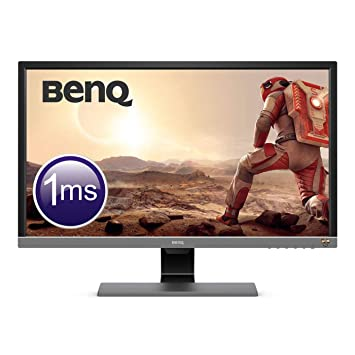 BenQ EL2870U 28 Inch UHD 4K 1 ms HDR Eye-Care LED Gaming Monitor,  Free-Sync, BI Plus Sensor, HDMI, Display Port, Speaker - Metallic Grey