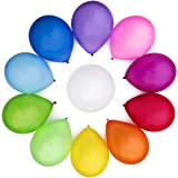 WinkyBoom Balloons Assorted Color 12 Inch 100 Pcs Helium Quality Latex For Party Decoration