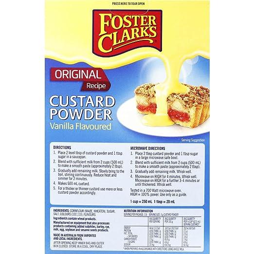 Foster Clarks Original Custard Powder - Vanilla Flavour 350g