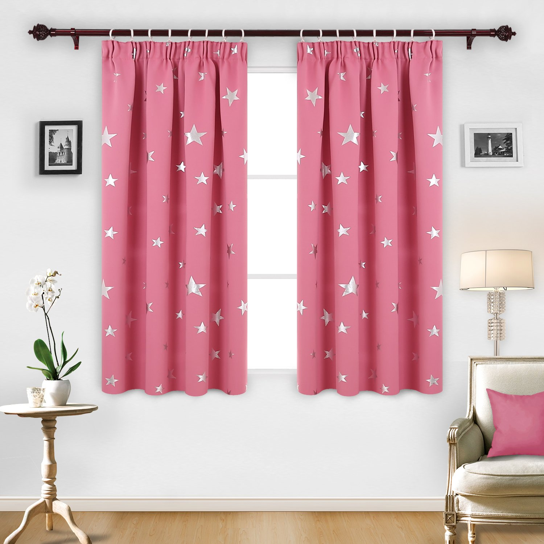 rose ikea aina panels curtains of light linen pink pin pair drapes