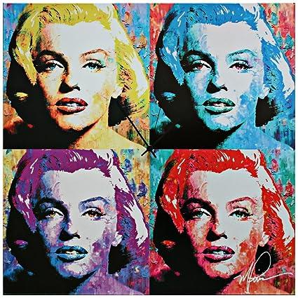 Amazon.com: Pop Art Clock \'Marilyn Monroe Clock\' - Pop Culture Decor ...