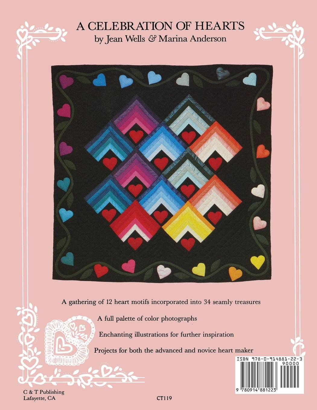 Celebration of Hearts: A Sampler of Heart Motifs for Quilting ...
