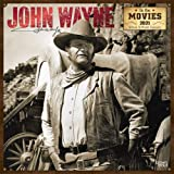 John Wayne in the Movies 2021 12 x 12 Inch Monthly Square Wall Calendar with Foil Stamped Cover, USA American Actor…