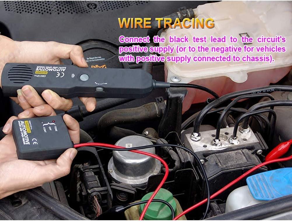 Testeur de circuit EM415PRO avec un d/étecteur de court-circuit ouvert de sac de stockage