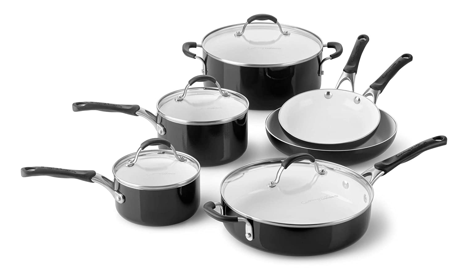 Calphalon 10 Piece Ceramic Nonstick Cookware Set