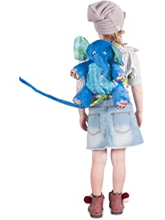 Eric Carle The Very Hungry Caterpillar Backpack Harness, Elephant, Polyester, Elephant Backpack,