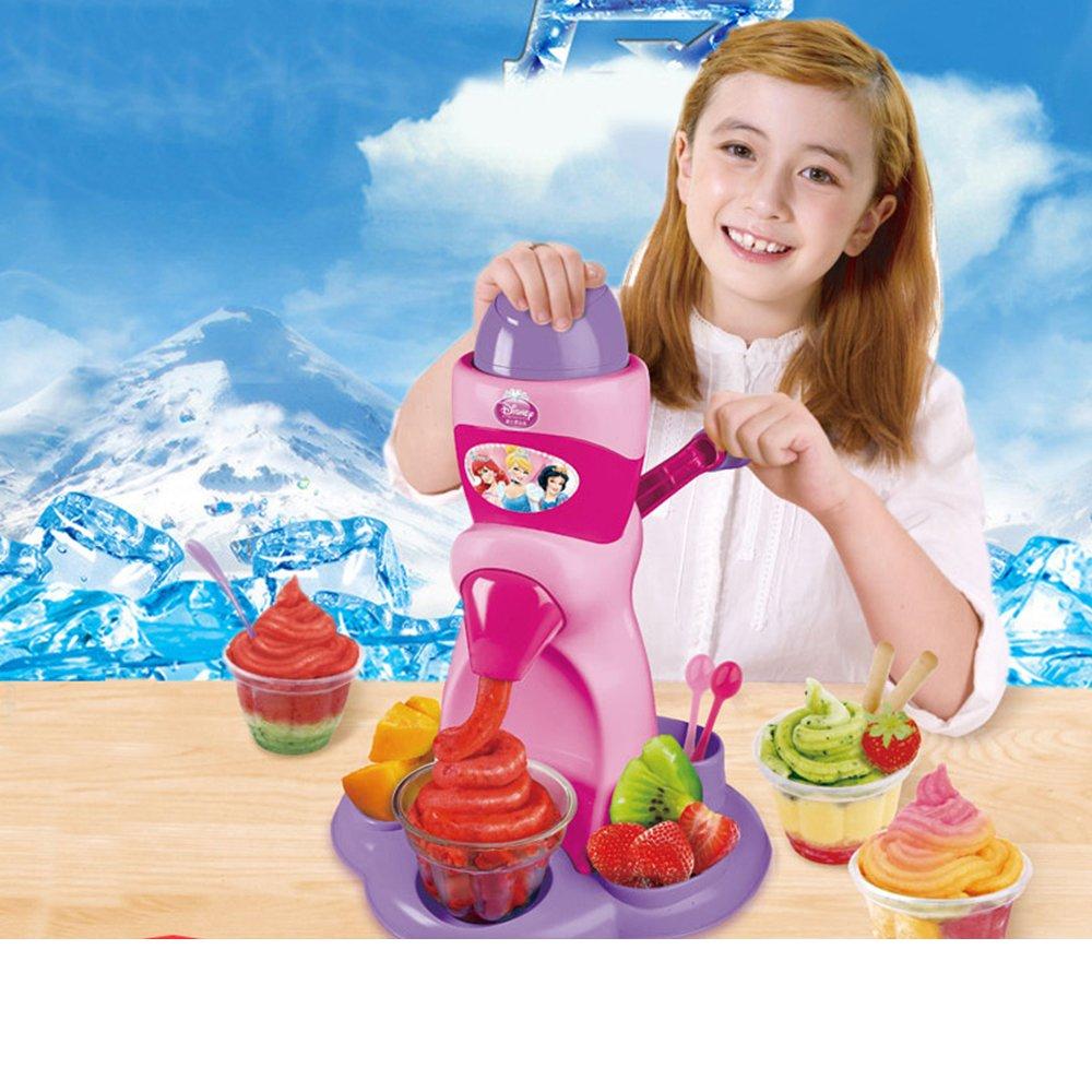 迪士尼冰果機兒童雪糕機 家用水果冰激凌冰淇淋機手工diy食品玩具