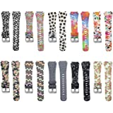 Sibode 22MM Replacement Bracelet Strap for Samsung Gear S3 Frontier / S3 Classic Smart Watch 20MM for Pebble Round/ Samsung Gear 2 Classic/ Ticwatch 2