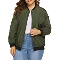 Pepochic Womens Color Block Windbreaker Casual Hooded Thin/Zip Up Hiking Jacket