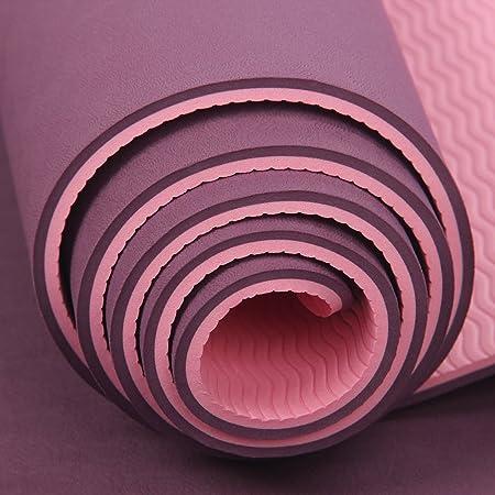 WEAF-Esterilla de yoga - doble cara antiresbaladiza ...