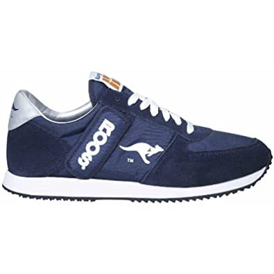 a4d361f681d8 KangaRoos Power Court Sports Shoe Mens Trainers (5 US) (Navy White