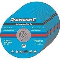 Silverline 447131 - Rueda de corte, 10 pzas