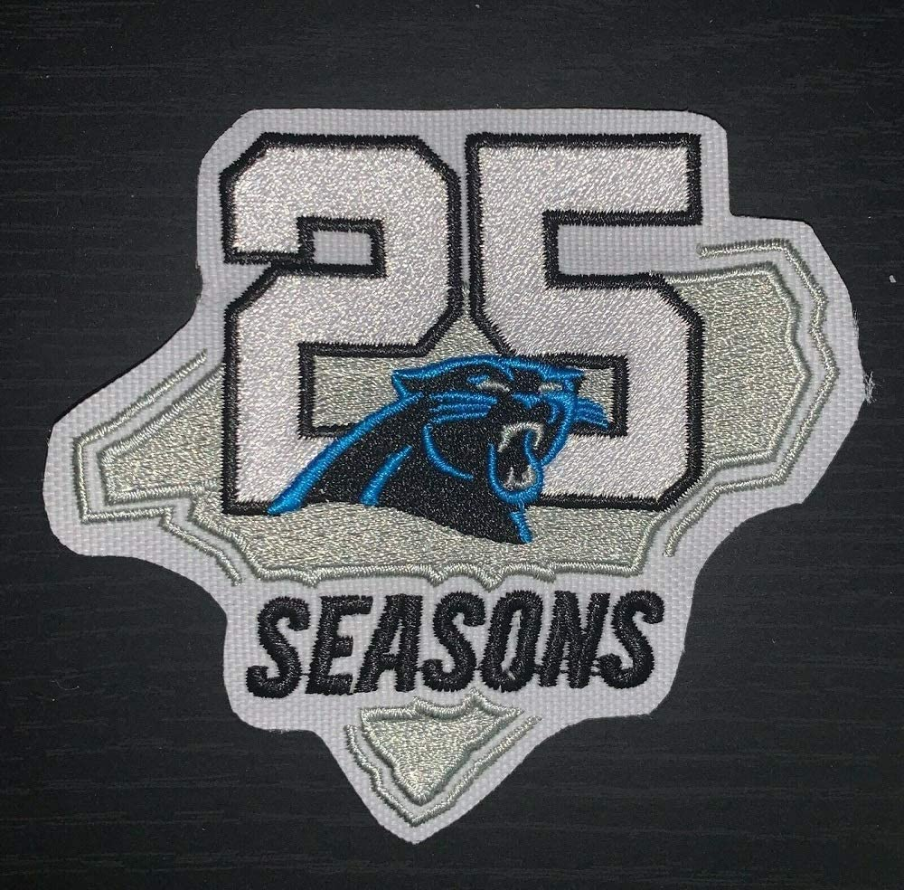 Football Panthers 25TH Anniversary Patch 2019 2020 Season Limited Edition