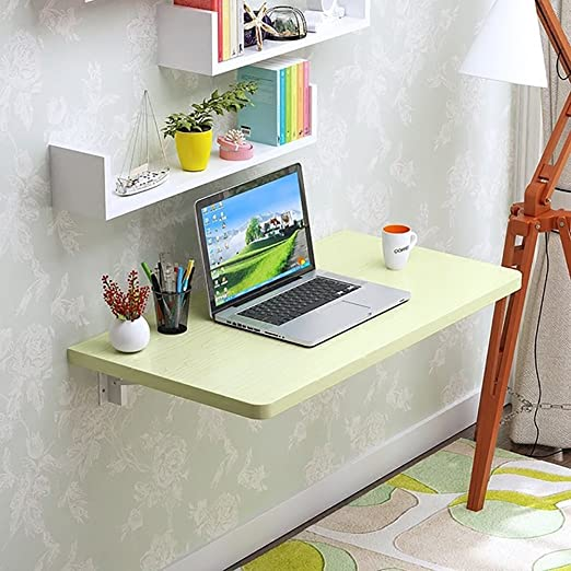ZJM-table Mesa de Pared Plegable de Color Verde para Montar en la ...