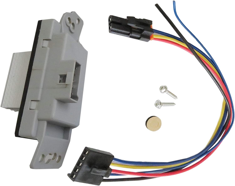 A//C Blower Motor Resistor For AVALANCHE SILVERADO SSR SUBURBAN TAHOE TRAILBLAZER Carb Omar