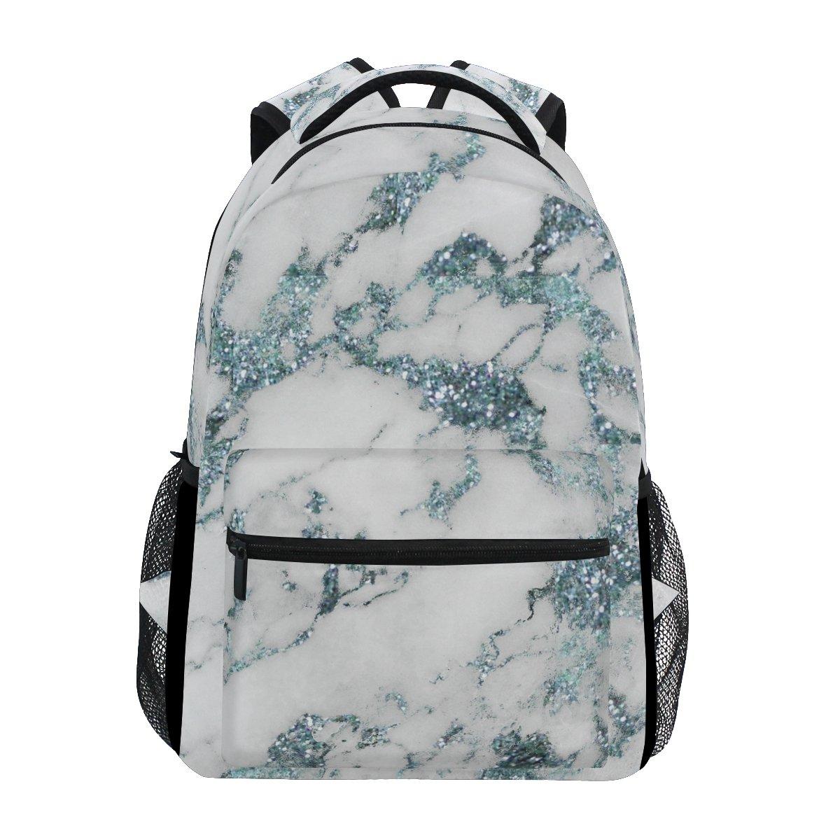 72feb2e65b6 Amazon.com: AHOMY School Backpack Marble Pattern College Book Bag Travel  Rucksack: Toys & Games