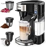 Sboly 6 In 1 Coffee Machine, Single Serve Coffee, Tea, Latte