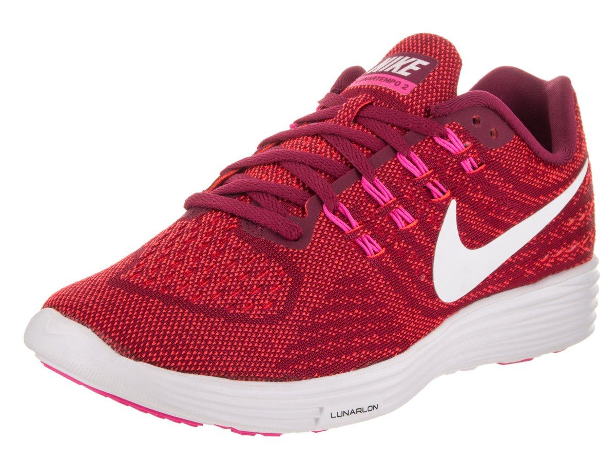 NIKE Women's Lunartempo 2 Running Shoe B019DQZDEE 12 B(M) US|Noble Red/White-bright Crimson-pink Blast