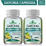 Nutriherbs Garcinia Cambogia Capsules ( 70% HCA ) 60 Capsules (Pack of 2)