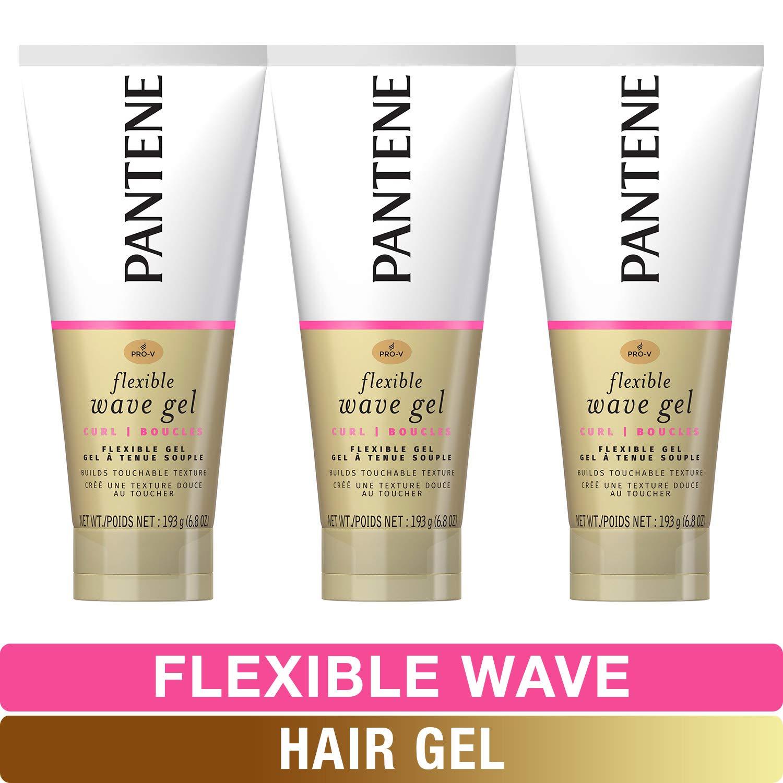 Pantene, Hair Gel, Flexible Wave, Pro-V, 6.8 fl oz, Triple Pack by Pantene