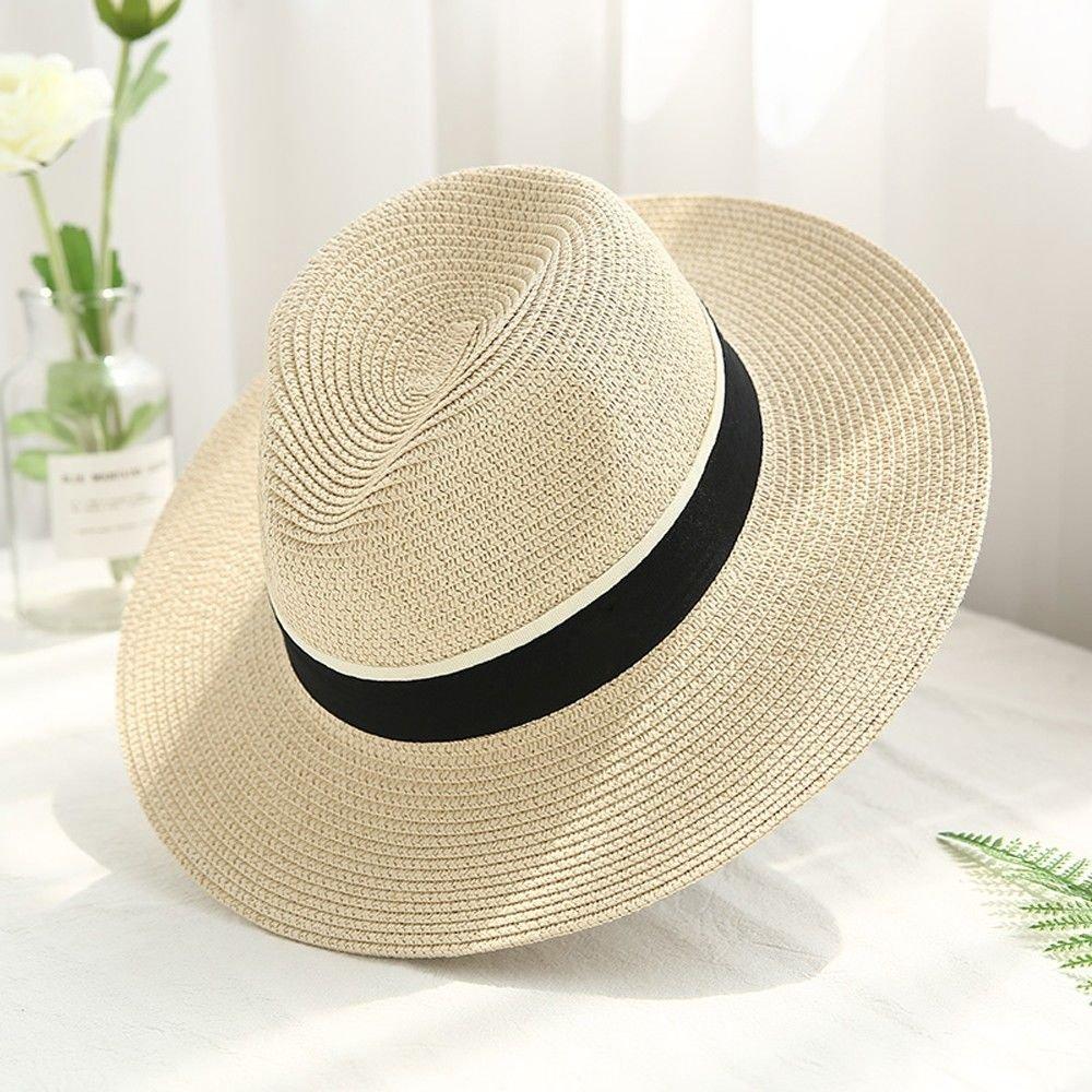 LIGYM Sombreros, Gorras de la Playa sombrillas, Grandes Aleros ...