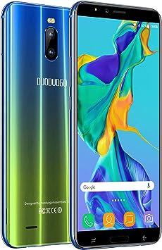 Moviles Buenos 3GB RAM 16GB ROM, 6 Moviles Libres 4G Android 8.1 Dual SIM Dual Cámara 12MP+5MP Telefono Móvil 4800mAh Batería J6+(2019) Smartphone Libres Face ID: Amazon.es: Electrónica
