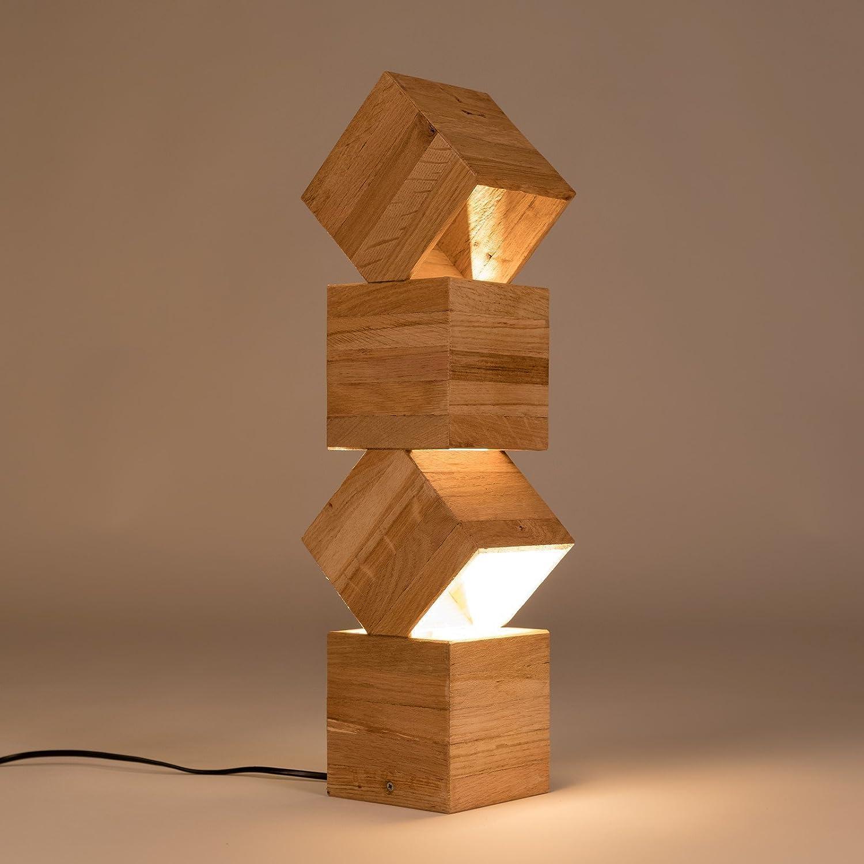 Danquen Handmade Wooden Design Lampadaire