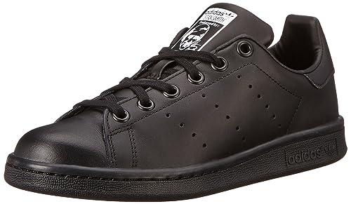 free shipping 1190e 4262e Adidas Kids Stan Smith J Originals Black Black Ftwwht Casual Shoe 4.5 Kids  US