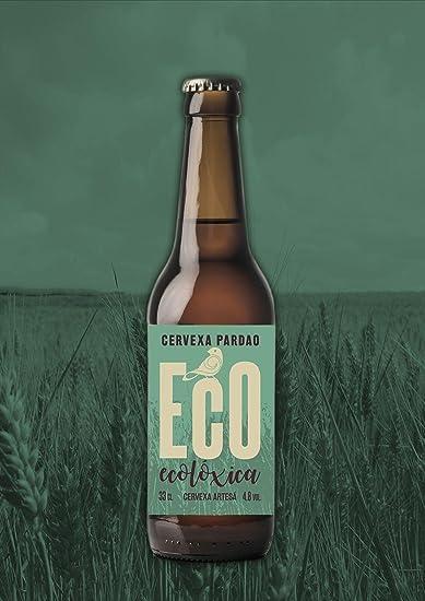 Pardao cerveza artesana ECOLÓGICA pack de 12 x 33cl. Botella de vidrio.: Amazon.es: Alimentación y bebidas