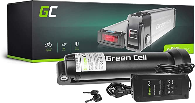 Green Cell EBIKE - Pilas de Repuesto para Bicicleta eléctrica (36 V ...