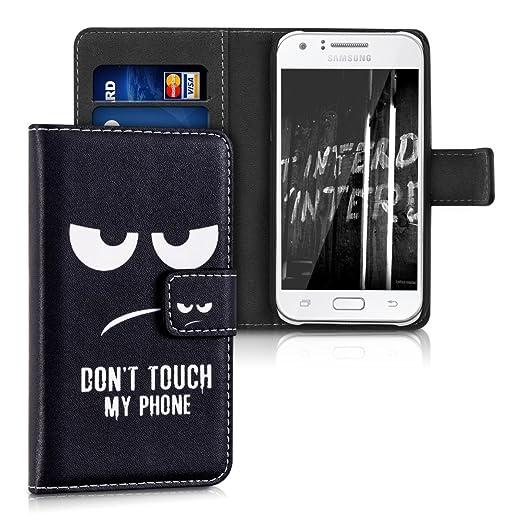 103 opinioni per kwmobile Custodia portafoglio per Samsung Galaxy J1 (2015)- Cover a libro in