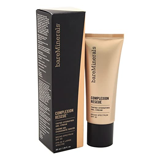 bareMinerals Complexion Rescue Tinted Hydrating Gel Cream SPF 30, Vanilla 02, 1.18 Ounce Best BB Cream